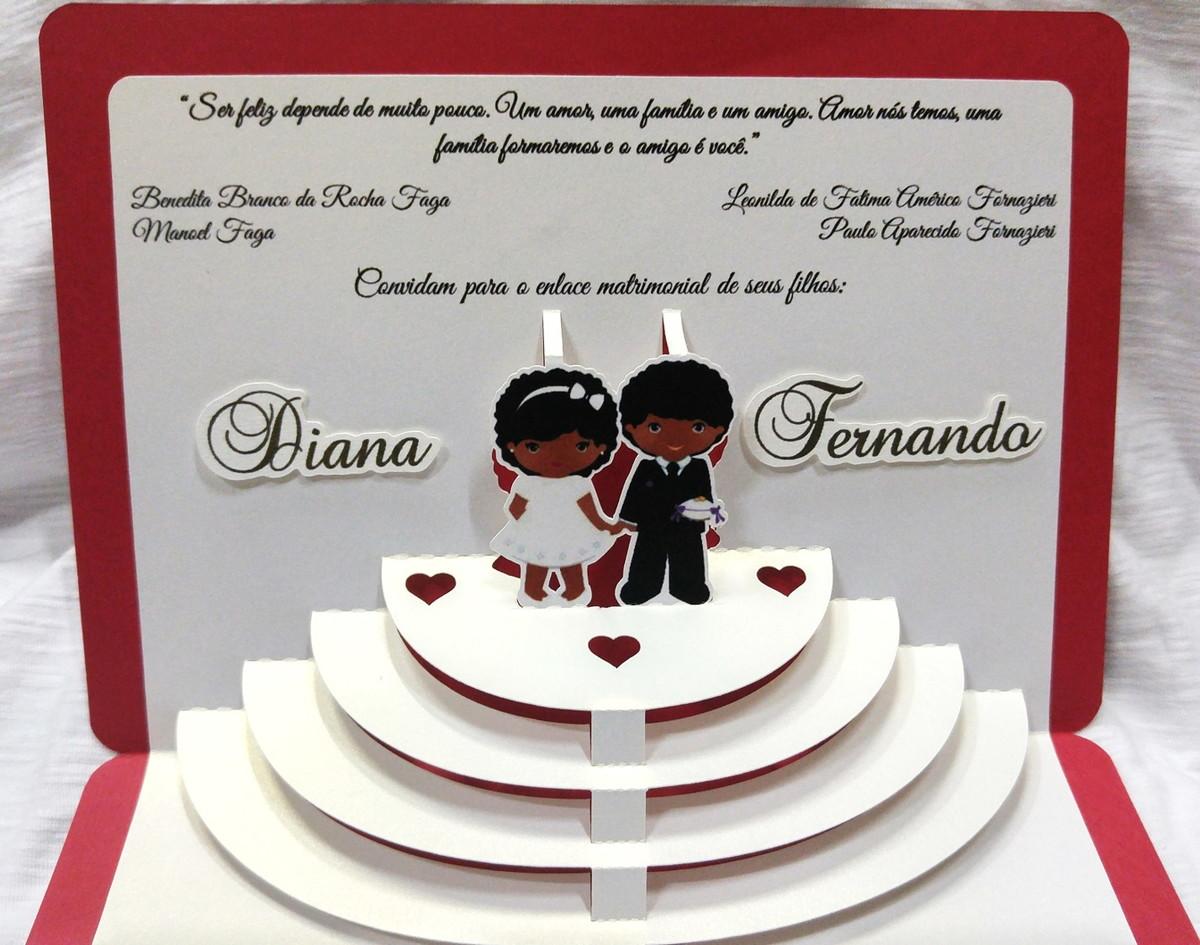 convites de casamento tridimensionais 8