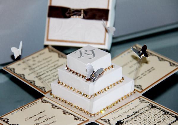 convites de casamento tridimensionais 9