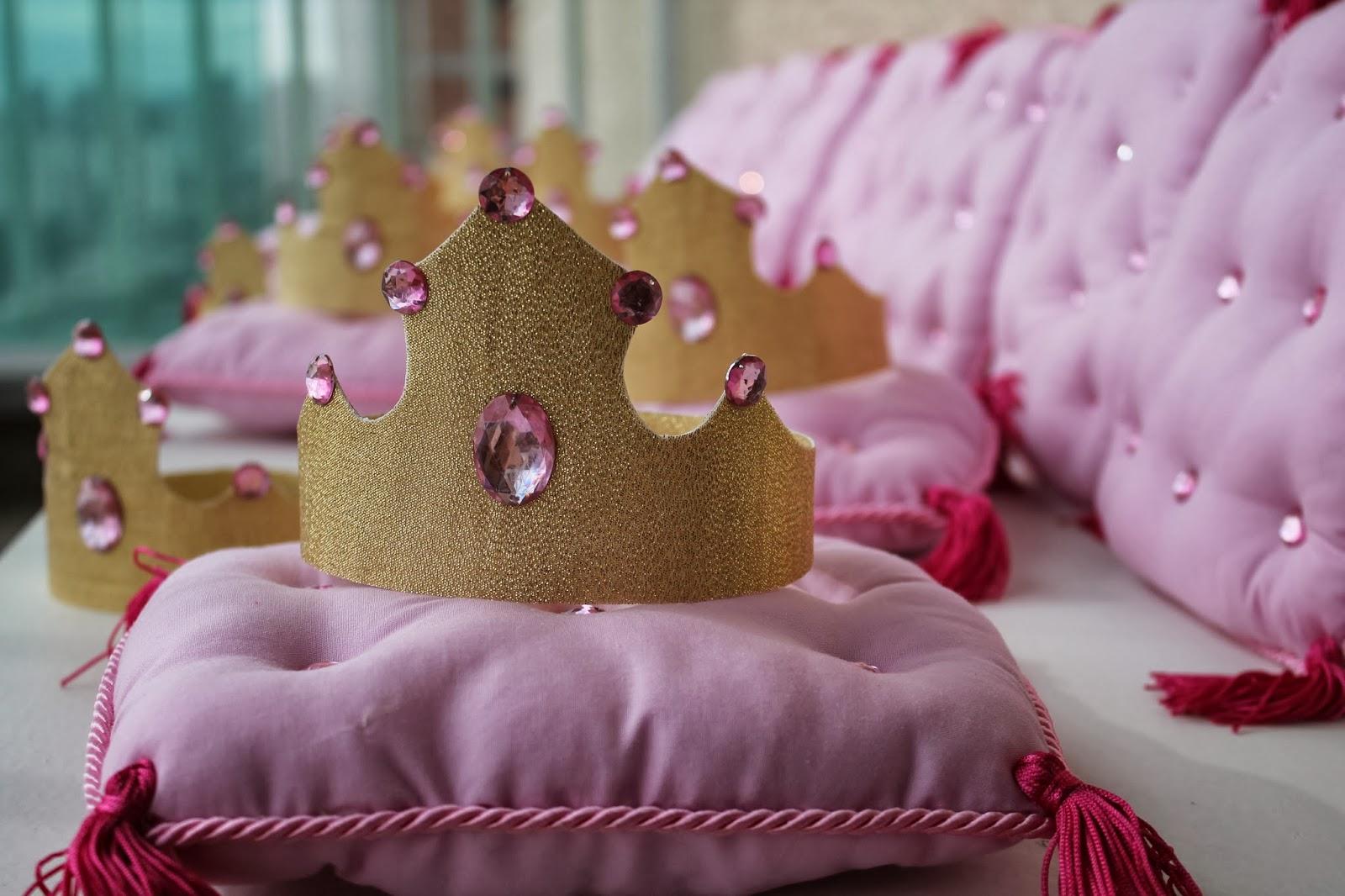 coroa de princesa passo a passo