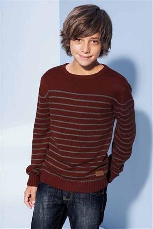 corte cabelo menino longo