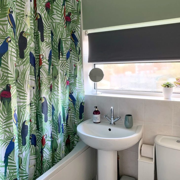 cortinas banheiro criativa 1