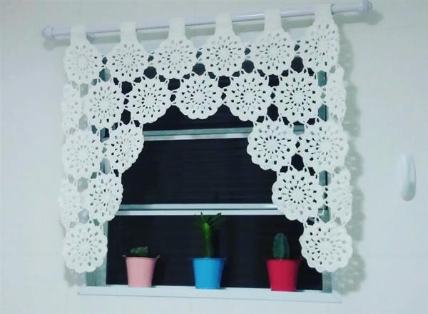cortinas banheiro croche 2