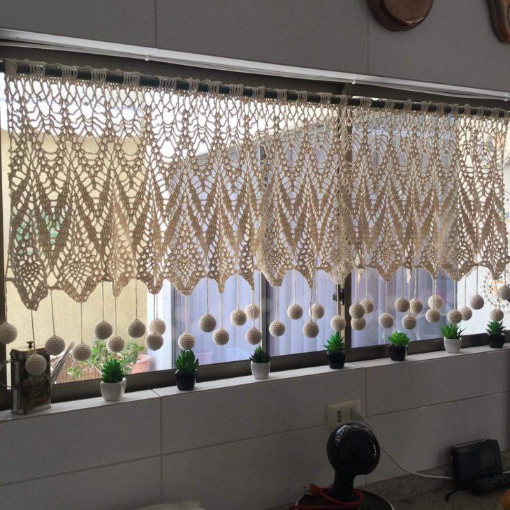 cortinas banheiro croche 4