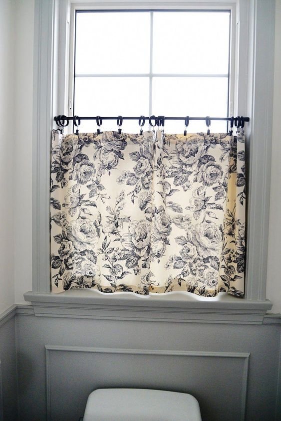 cortinas banheiro diy 1