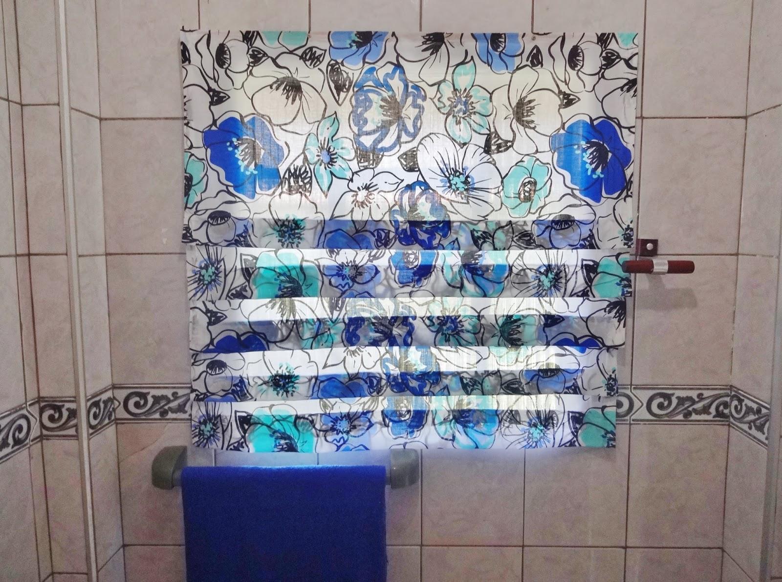 cortinas banheiro diy