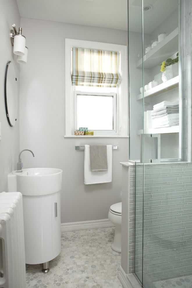 cortinas banheiro pequeno 1