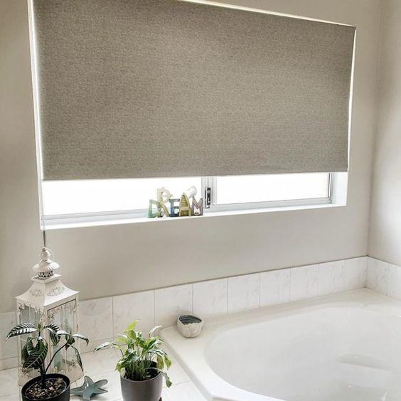cortinas banheiro tecido 2