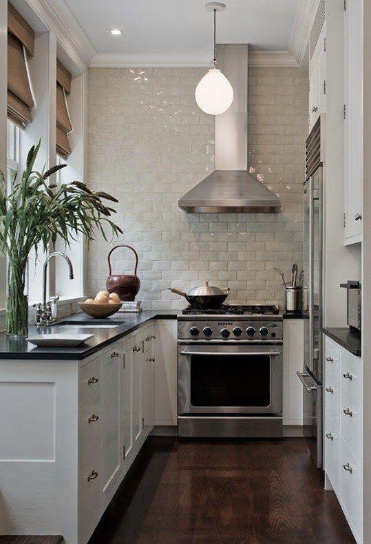 cozinha pequena decorada ideia