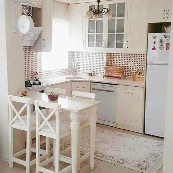 cozinha pequena decorada simples