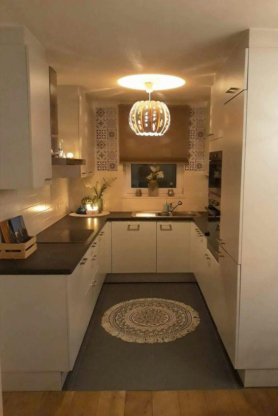 cozinha pequena decorada tradicional