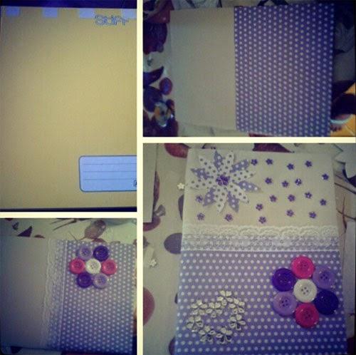 customizar cadernos passo passo 1