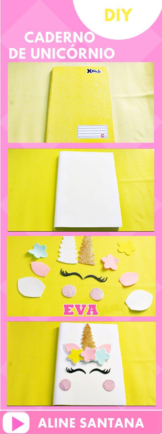 customizar cadernos passo passo