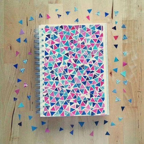 customizar cadernos tumblr colorido
