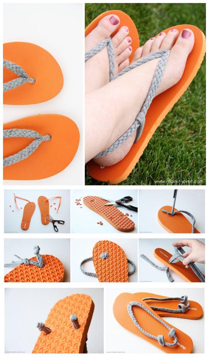 customizar chinelos