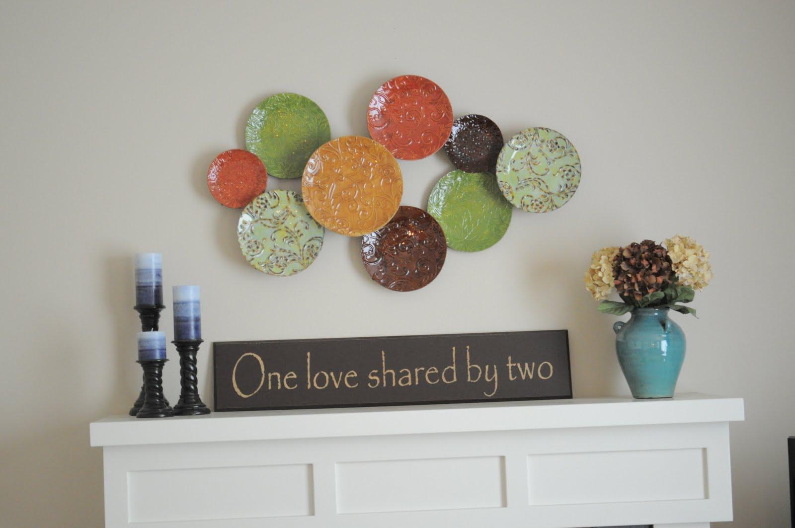 decoração com pratos