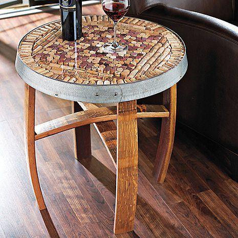 decoração rolhas cortiça base mesa