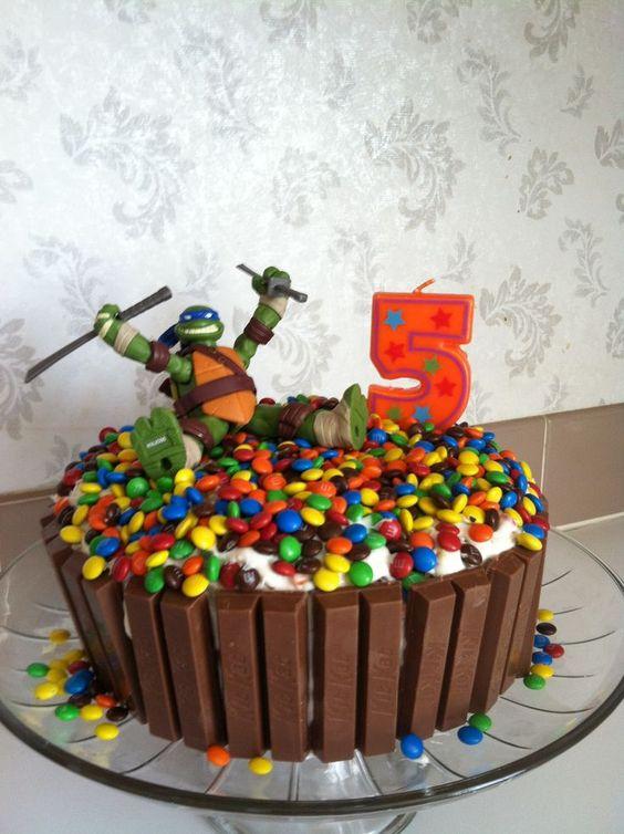 decoraçao caseira de bolos