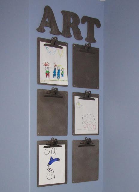 decoraçao com placas