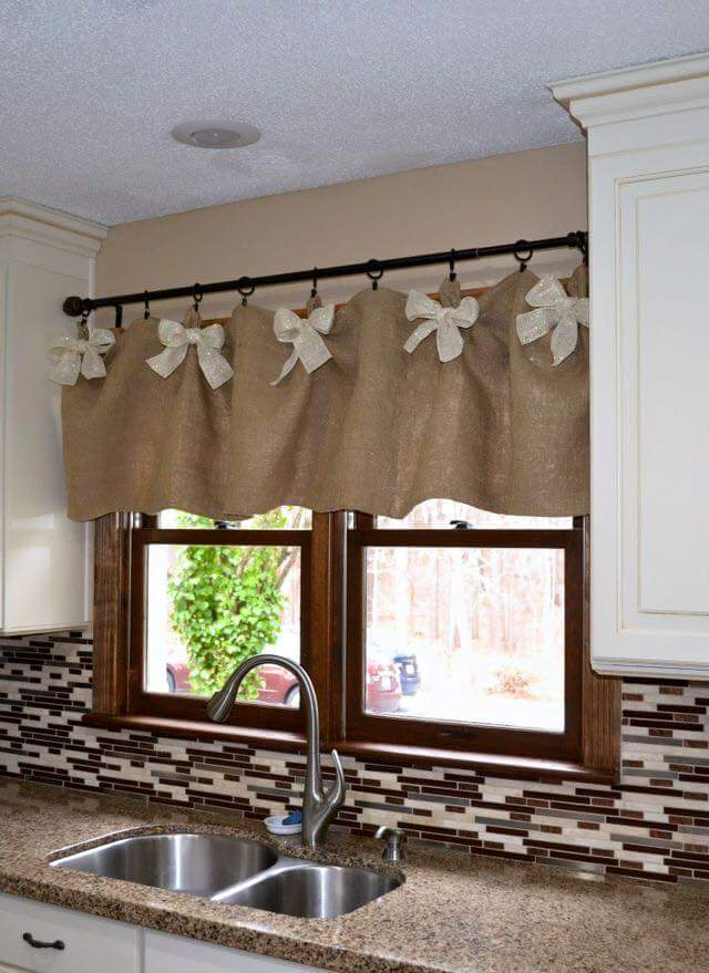 Decora o de cozinhas com cortinas for Cortinas de cocina rusticas
