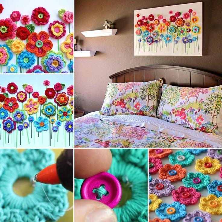 decoraçao crochet