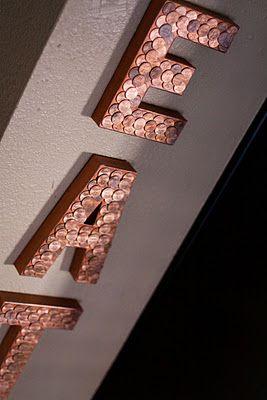 decoraçao de letras