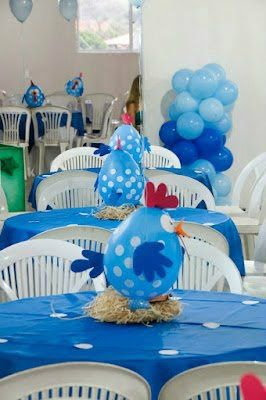 decoraçao festa galinha pintadinha