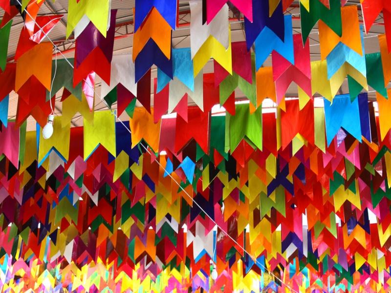decoraçao festa junina bandeirinhas 7