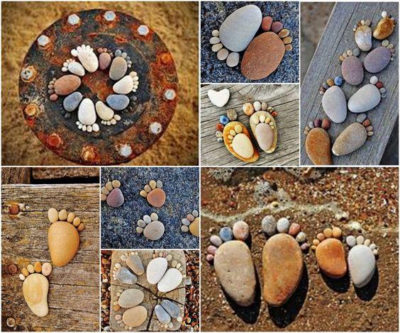 10 Ideias para Decorar o Jardim com Pedras