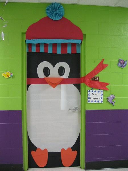 Decora o de portas para o natal for Como decorar una puerta en navidad