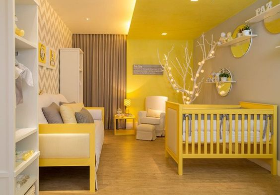 10 Ideias Giras para Decorar o quarto do Bebé