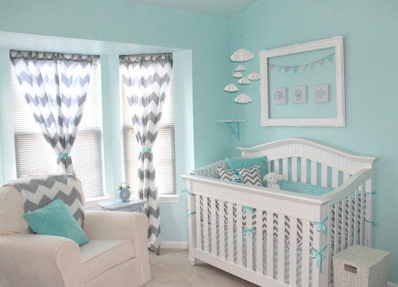 decoraçao quarto bebe menino