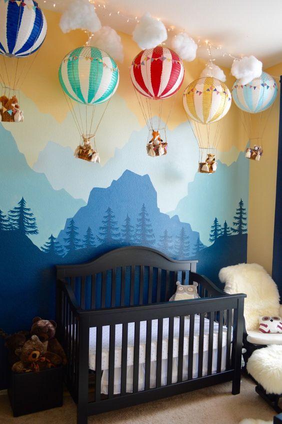 decoraçao quarto bebe