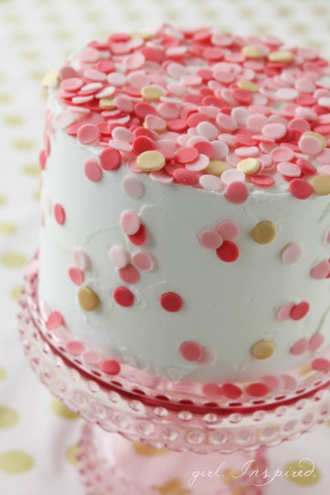 decoraçao simples de bolos