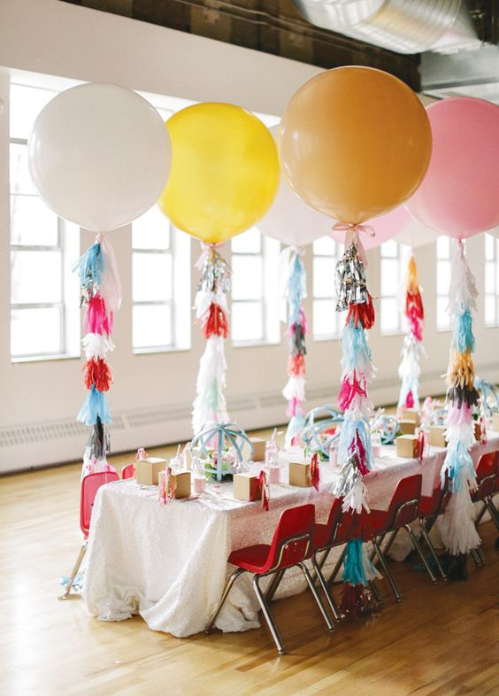 decora cao festa baloes gigantes