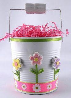 decoracao artesanato pascoa latas 3