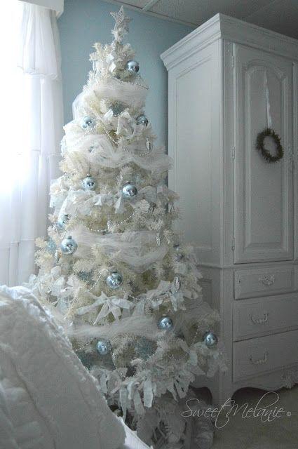 decoracao arvore natal branca 13