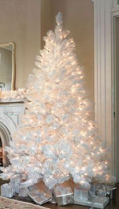 decoracao arvore natal branca 16