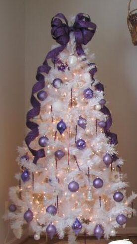 decoracao arvore natal branca 4