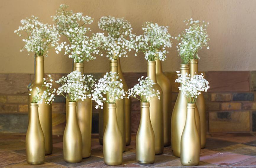 decoracao bodas ouro