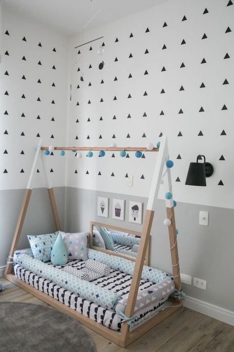 decoracao cama forma casinha 1