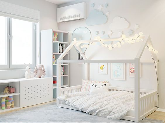 decoracao cama forma casinha 11