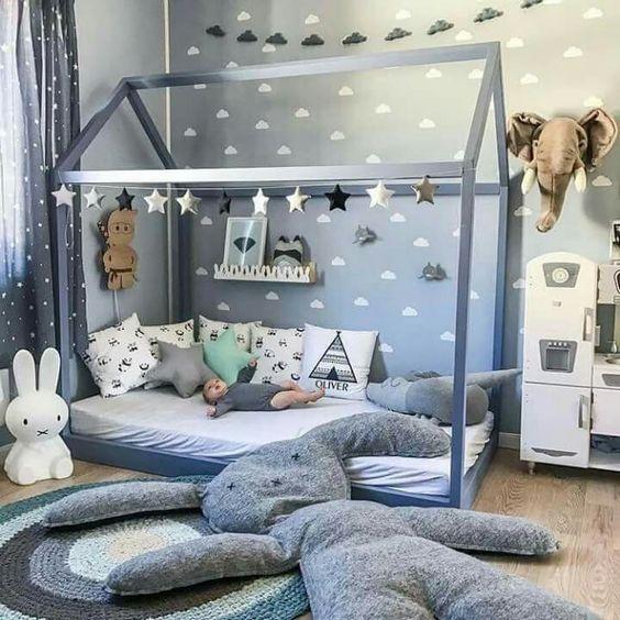 decoracao cama forma casinha 2