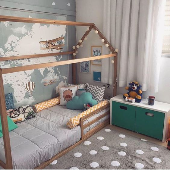decoracao cama forma casinha 3
