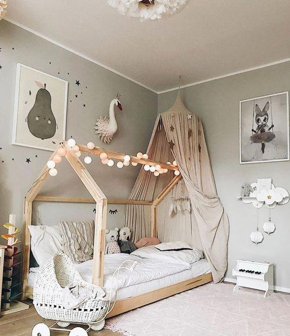 decoracao cama forma casinha 6