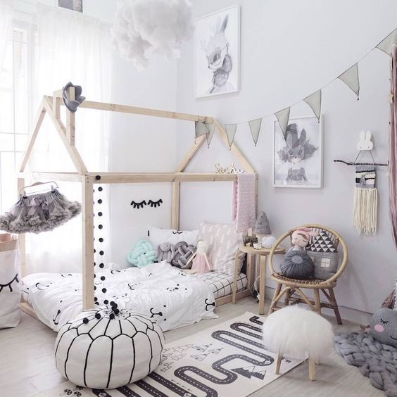 decoracao cama forma casinha 7