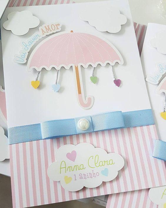 decoracao chuva amor convite 1
