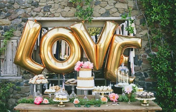 decoracao de bodas de ouro 1