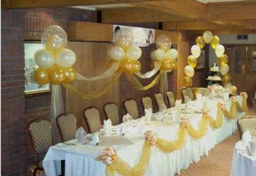 decoracao de bodas de ouro 3