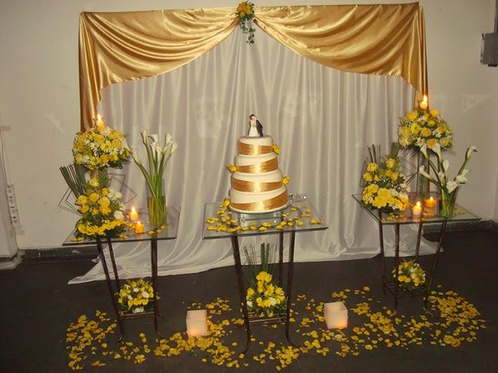 decoracao de bodas de ouro 5