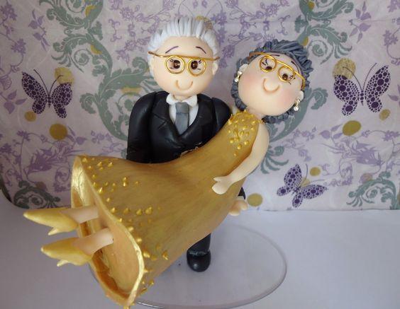 decoracao de bodas de ouro 7